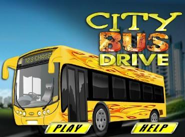 Флеш игра Водитель городского автобуса