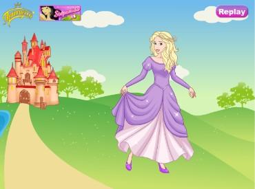 Флеш игра Принцесса Роза