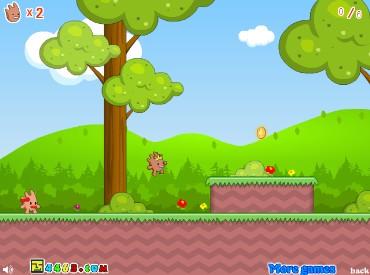 Флеш игра Побег принца и принцессы