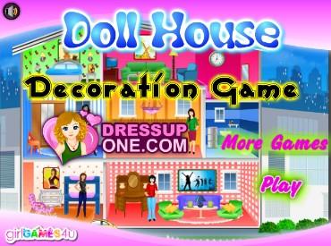 Флеш игра Обстановка в кукольном домике