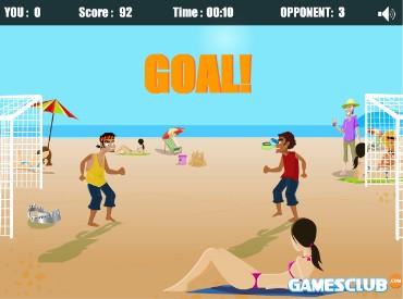 Флеш игра Пляжные головастики