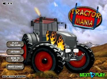 Флеш игра Мания трактора