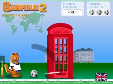 Флеш игра Garfield 2