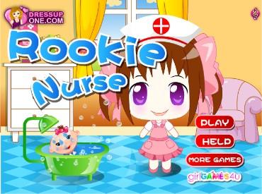 Флеш игра Медсестричка Руки