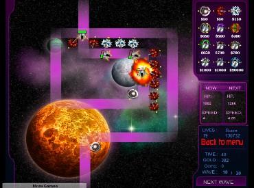 Флеш игра Space Invasion TD 2