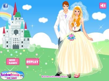 Флеш игра Фантастическая невеста