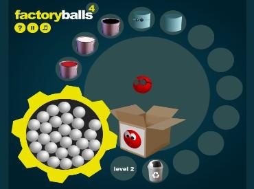 Флеш игра Фабрика шаров 4