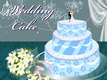Флеш игра Свадебный торт