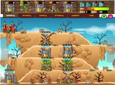 Флеш игра Защита холма