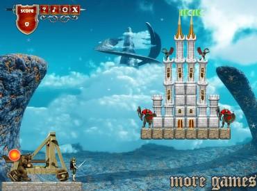 Флеш игра Мастер катапульты 2