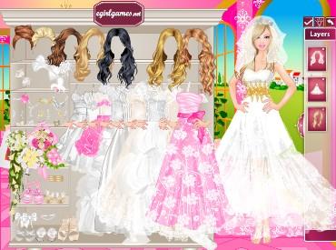 Флеш игра Барби Невеста