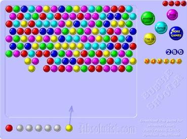 Флеш игра Стрелок пузырями