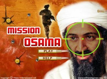 Флеш игра Миссия Осама