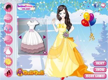 Игры Барби Свадебные Платья Престиж Преческа