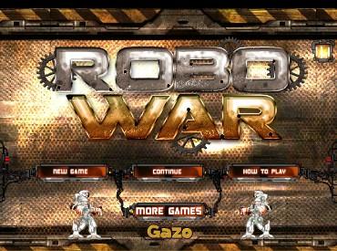 Флеш игра Война Роботов