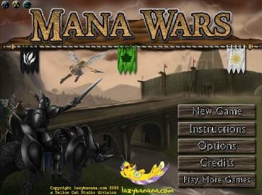 Флеш игра Магическая Война