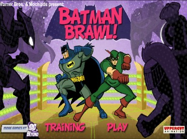 Флеш игра Batman Brawl