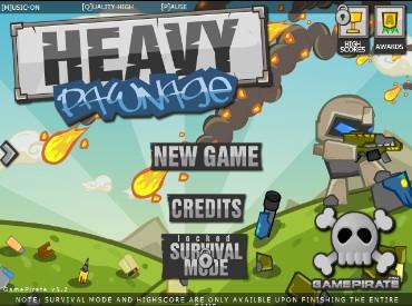 Флеш игра Heavy Pawnage