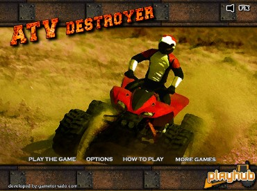 Флеш игра ATV Destroyer