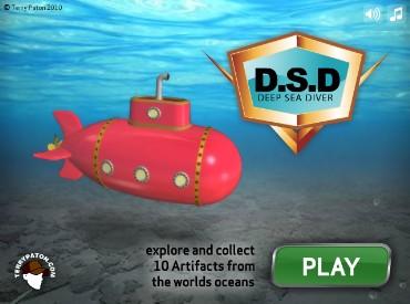 Флеш игра Подводная Лодка
