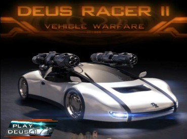 Флеш игра Deus Racer II