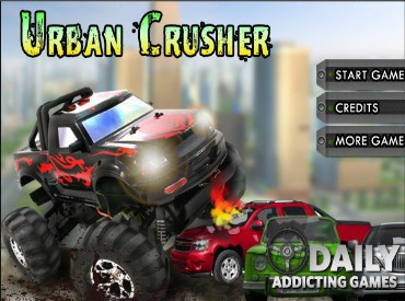Флеш игра Urban Crusher
