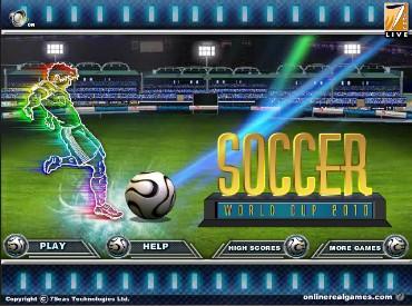 Флеш игра Футбол: Чемпион Мира 2010