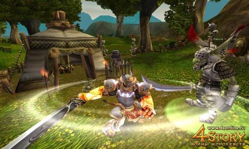 Онлайн игра 4Story: Войны Королевств